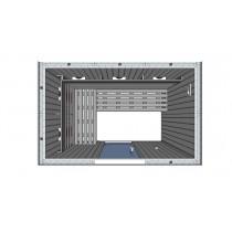 4 Person Infrared Saunarium L Benches IR2030
