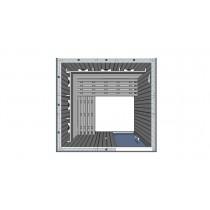 IR2525 Infrared Sauna Cabin L Bench