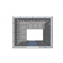 IR2530 Infrared Sauna Cabin L Bench