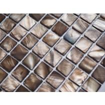 Brown Shell Mosaic 305 x 305mm
