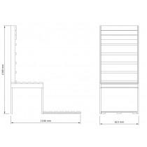 Infrared Sauna Bench Kit 1