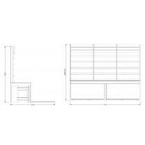 Infrared Sauna Bench Kit 3