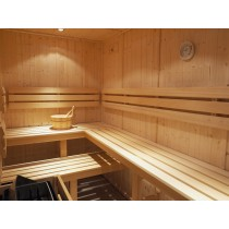 D1525 Sauna Bench, Backrest & Floor Mat Kit