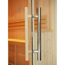 Clear Glass Disabled Access Sauna Door