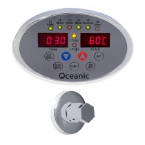 Oceanic Steam Generator Digital Control Panel and Chrome steam inlet nozzle