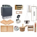 Deluxe Home Sauna Kit with Built in Control Heater
