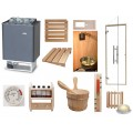 Light Duty Commercial Deluxe EOS Sauna Kit & OCSB Controls