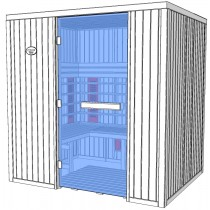 4 Person Commercial Infrared Sauna Disabled Access - IR2530L