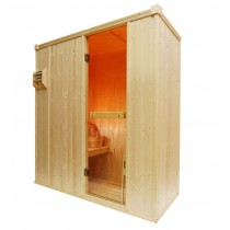 2 Person Oceanic Traditional Home Sauna D1030