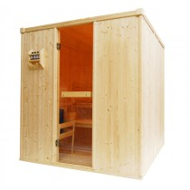 4 Person Oceanic Traditional Home Sauna Front