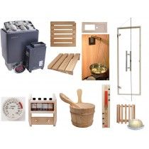 Deluxe Home Saunarium Kit - Combi Sauna & Steam