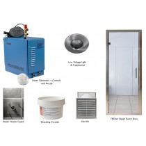 Home Steam Room Kit