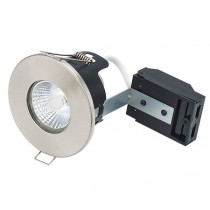 Infrared Sauna White 12v Fire Rated Downlight Kit - Chrome