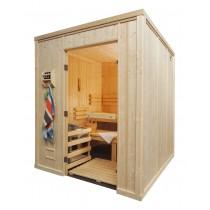 9 Person Heavy Duty Commercial Sauna Floor Plan