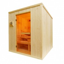 5 Person Heavy Duty Sauna - HD3030BB Floor plan