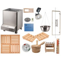 Heavy Duty Commercial Deluxe Sauna Kit