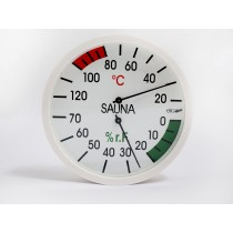 Oceanic sauna combined thermometer / hygrometer