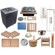 Celebration Home Saunarium Kit with Apollo Saunarium Heater