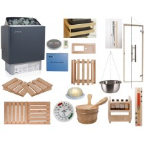 Celebration Home Sauna Kit with OCSB Controls