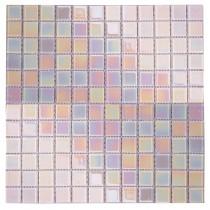 Pearl White iridescent - Soft Edge 320 x 320mm
