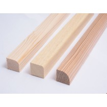 Oceanic Saunas Spruce, Abachi and Hemlock corner mould