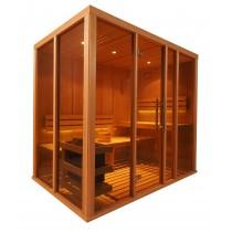 V2035 Vision Finnish Sauna Cabin floor plan