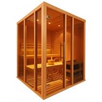 V2525 Vision Finnish Sauna Cabin floor plan