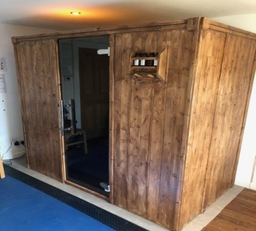 D1530 with Thermowood Effect Sauna Paint