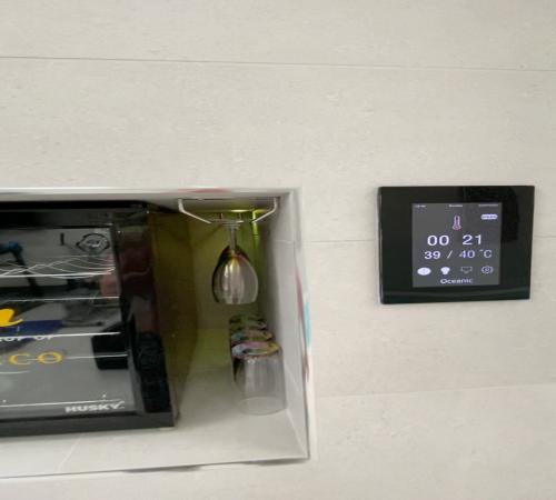 OSX Steam Room Controls
