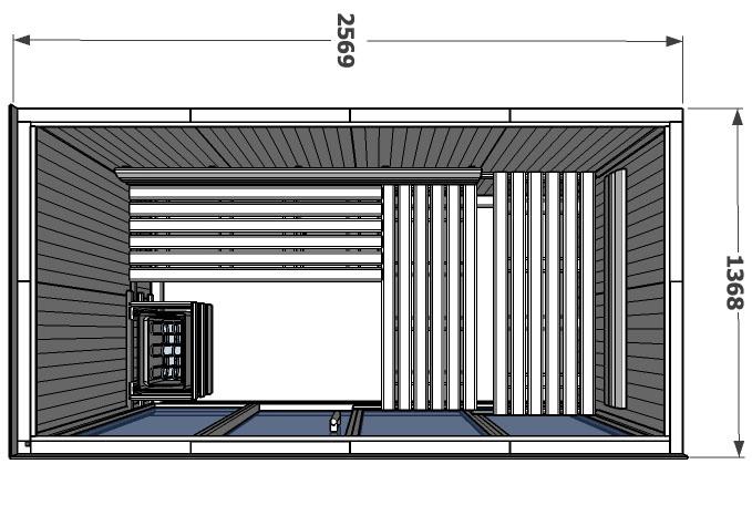 V2040 Hemlock Side Wall Drawing