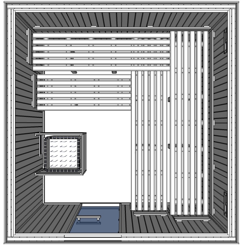 c4040 6 slat bench floor plan