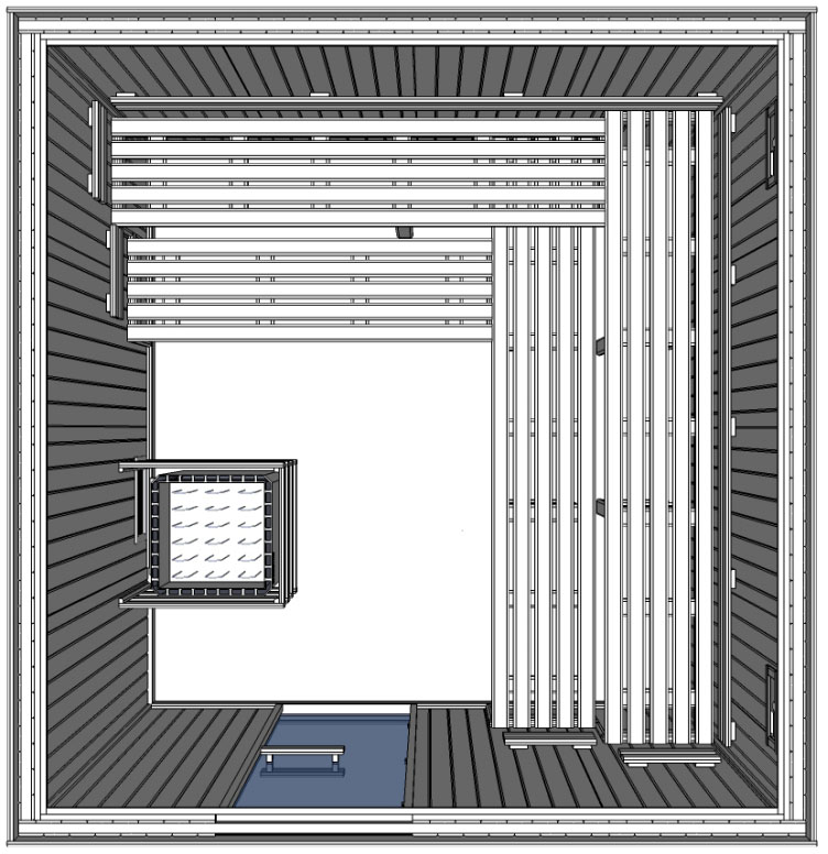c4040 5 slat bench floor plan