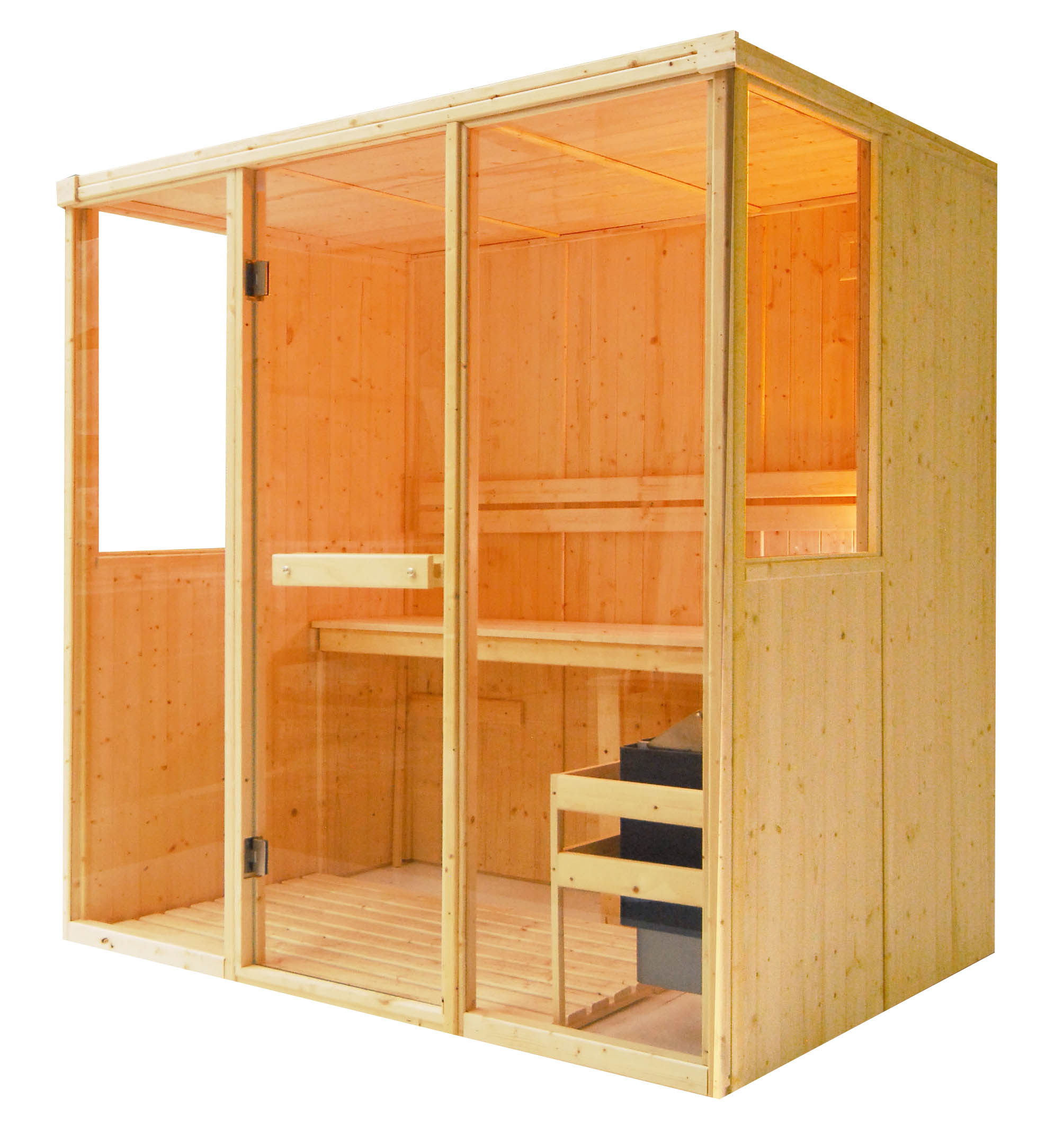 Oceanic Saunas Glass Panels