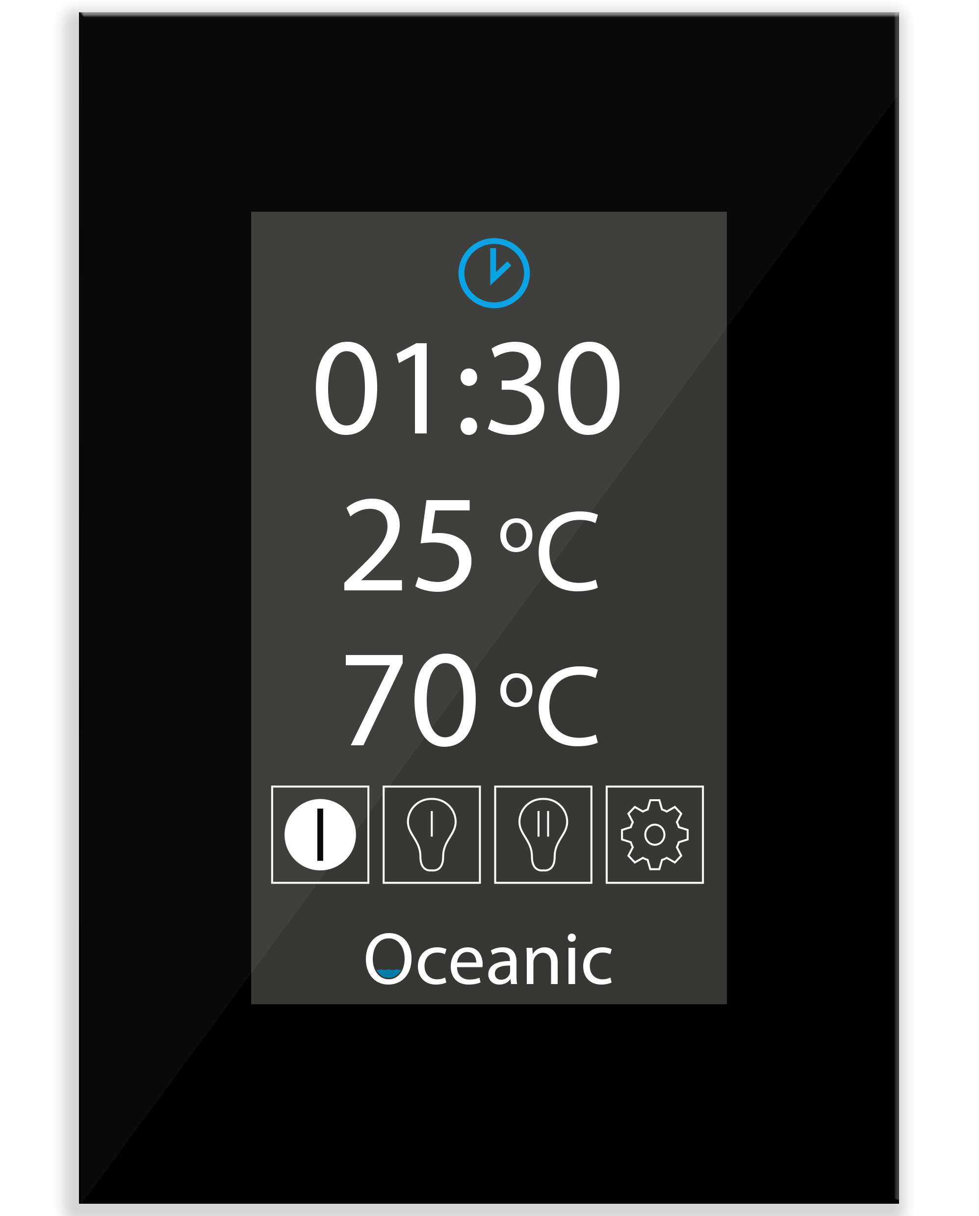 OSX Sauna heater touch screen controls