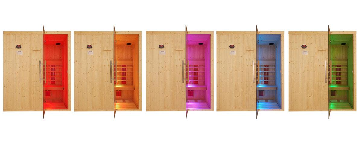 Oceanic Sauna Chromotherapy Light