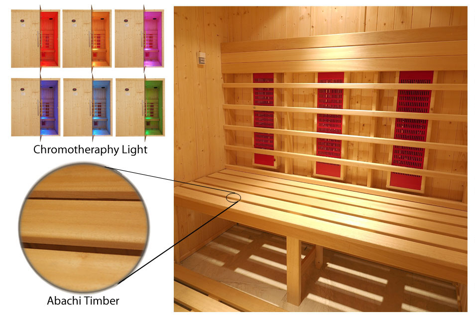 Oceanic Infrared Sauna Deluxe Specification