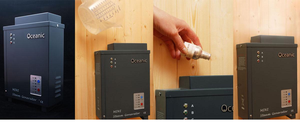 Oceanic Saunas Mini Steam Generator
