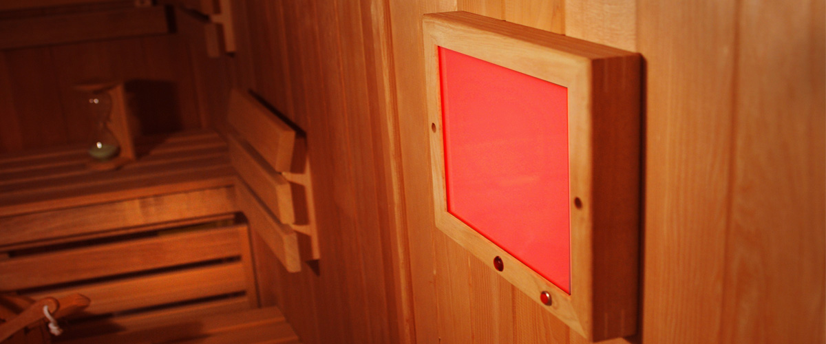 sauna chromotherapy light