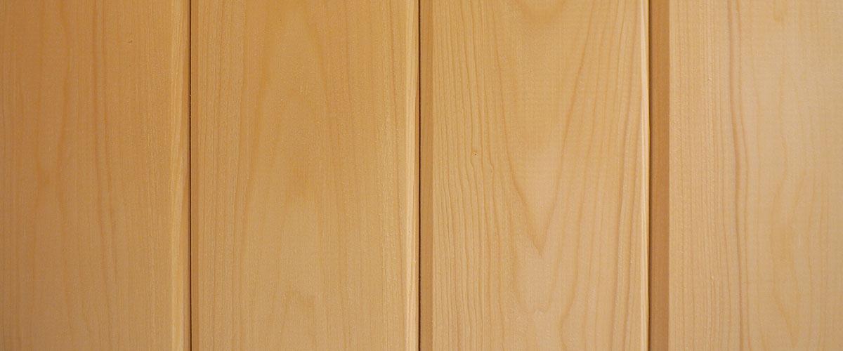 Kiln Dried Spruce for Finnish sauna
