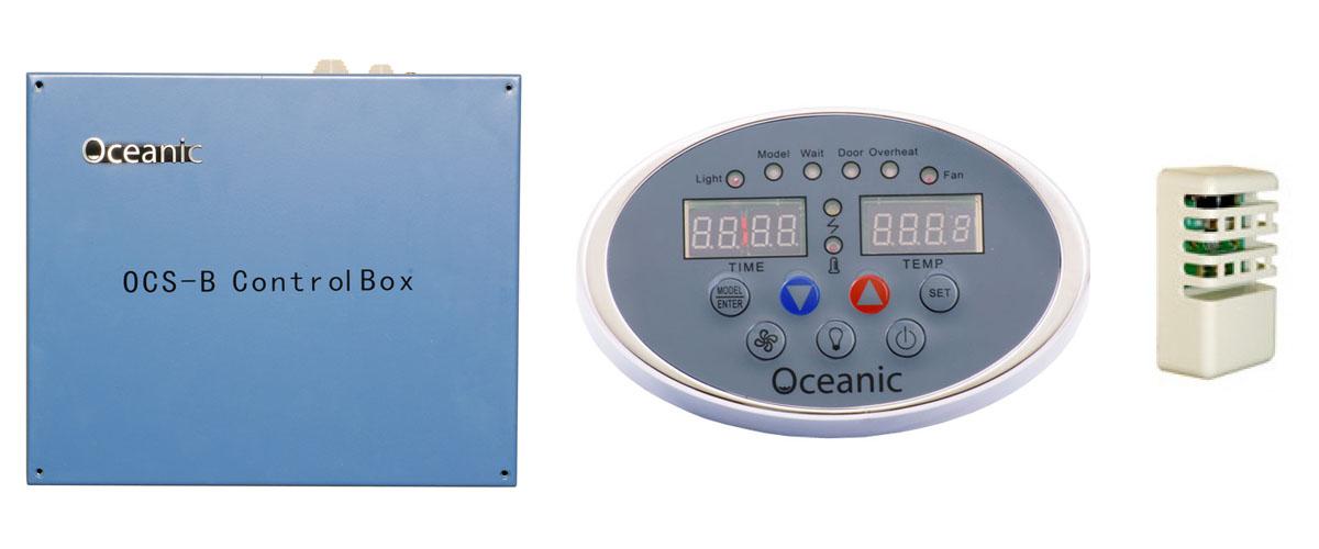Oceanic Saunas OCSB sauna heater controls