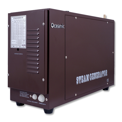 Heavy duty commercial steam generator