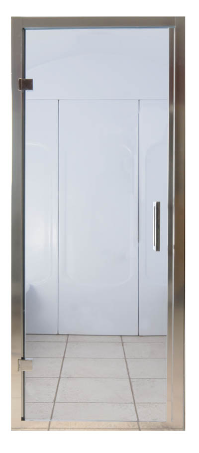 785 Chrome steam room door
